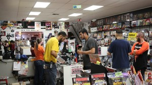 Drawn to Comics in Glendale has a variety of comic books and comic merchandise. (Photo by Maddy Ryan/Cronkite News)