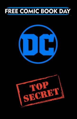 TOP SECRET GOLD BOOK DC Entertainment