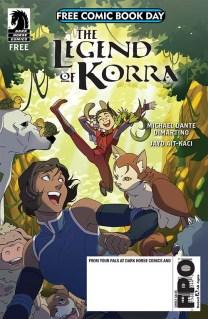 THE LEGEND OF KORRA/NINTENDO'S ARMS Dark Horse Comics