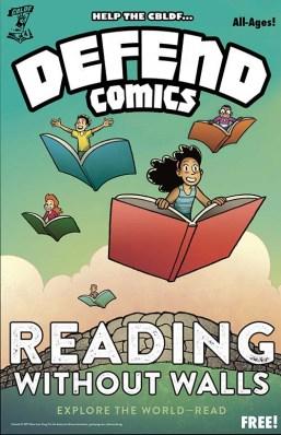 DEFEND COMICS Comic Book Legal Defense Fund