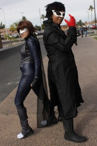 Persona 5 cosplay was seen in abundance at the convention.