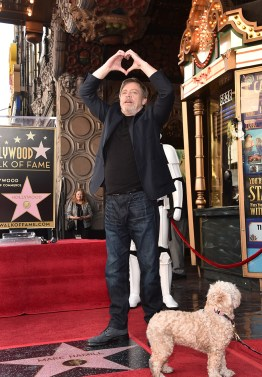 HOLLYWOOD, CA - MARCH 08: Mark Hamill is Honored with Star on the Hollywood Walk of Fame on March 8, 2018 at Hollywood Walk Of Fame in Hollywood, California. (Photo by Alberto E. Rodriguez/Getty Images for Disney) *** Local Caption *** Mark Hamill