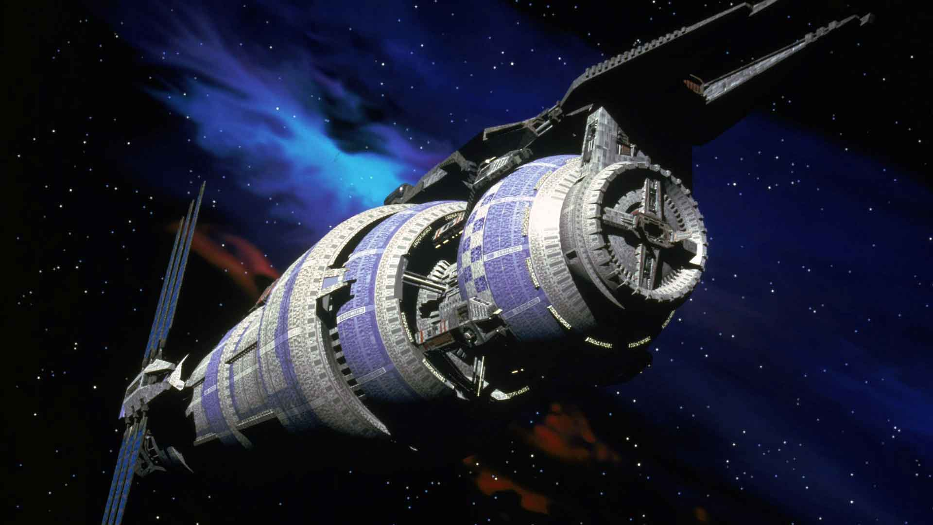 Remastered Babylon 5 streaming on HBO Max
