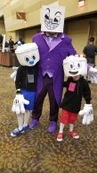 Cuphead proved popular with kids and adult cosplayers alike. Photo by Christen Bejar.