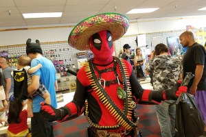 Free Comic Book Day / Cinco de Mayor at Jesse James Comic