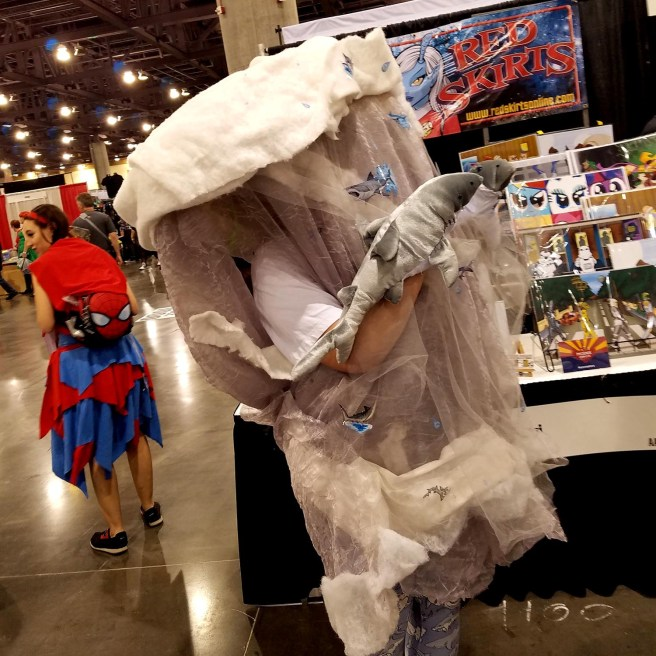 It's a Sharknado at Phoenix Comic Fest, Friday, May 25, 2018, at the Phoenix Convention Center.