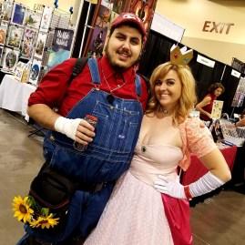 Princess saved, Mario wins at Phoenix Comic Fest, Saturday, May 26, 2018, at the Phoenix Convention Center.