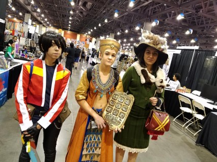 Voltron meets Harry Potter meets A Night at the Museum? Universes colliding at Phoenix Comic Fest, Saturday, May 26, 2018, at the Phoenix Convention Center.