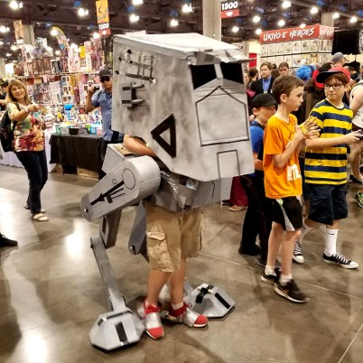 Imperial walkers at Phoenix Comic Fest, Sunday, May 27, 2018, at the Phoenix Convention Center.