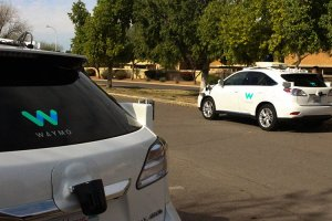 The Phoenix metro area is a hotspot for testing self-driving vehicles, with companies like Uber and Waymo taking advantage of limited regulations in Arizona. (Photo by Erica Apodaca/Cronkite News)