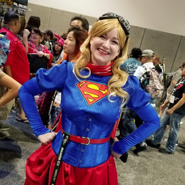 Supergirl 1888 at San Diego Comic-Con 2018
