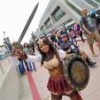 Steampunk Wonder Woman at San Diego Comic-Con 2018