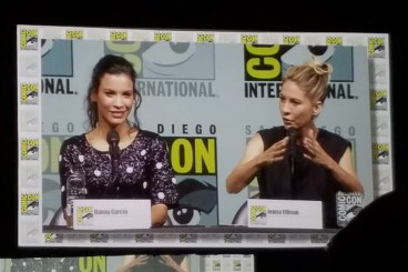 Danay Garcia and Jenna Elfman