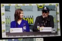 Lauren Cohan and Jeffrey Dean Morgan
