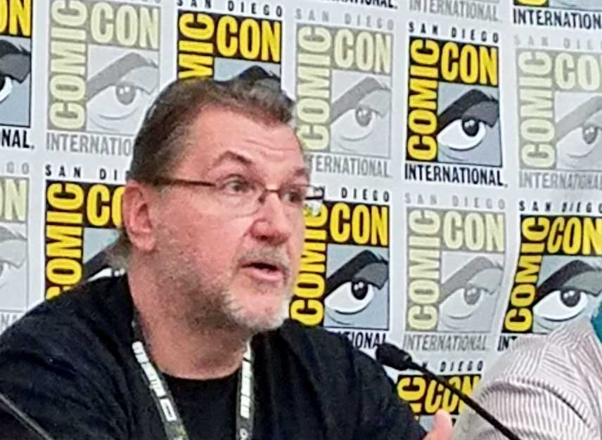 Joe Jusko at San Diego Comic-Con 2018