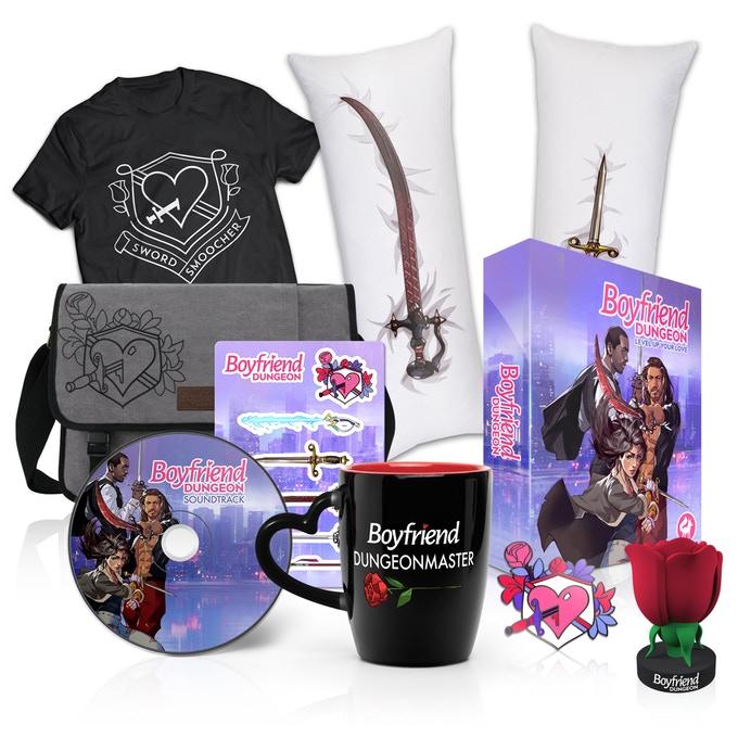 Boyfriend Dungeon Kickstarter Rewards