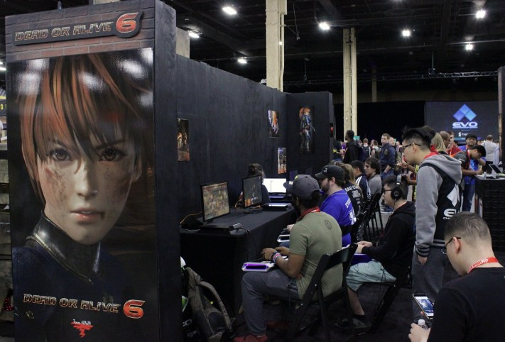 Dead or Alive 6 ran a side tournament and demo stations throughout the weekend.