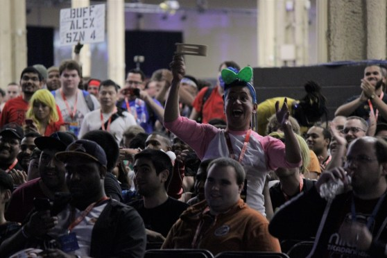 The audience at Evo never failed to bring the hype during tense matches.
