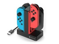 4-In-1 charger dock for Nintendo Switch Joy-Cons