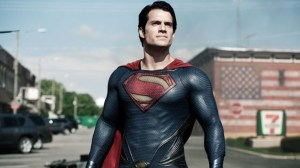 Henry Cavill in Man of Steel