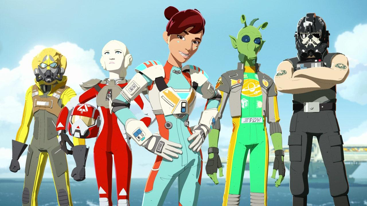 Star Wars Resistance Team Aces