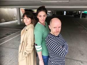 Catrin Stewart, Neve-McIntosh and Dan-Starkey Doctor Who Big Finish Paternoster Gang