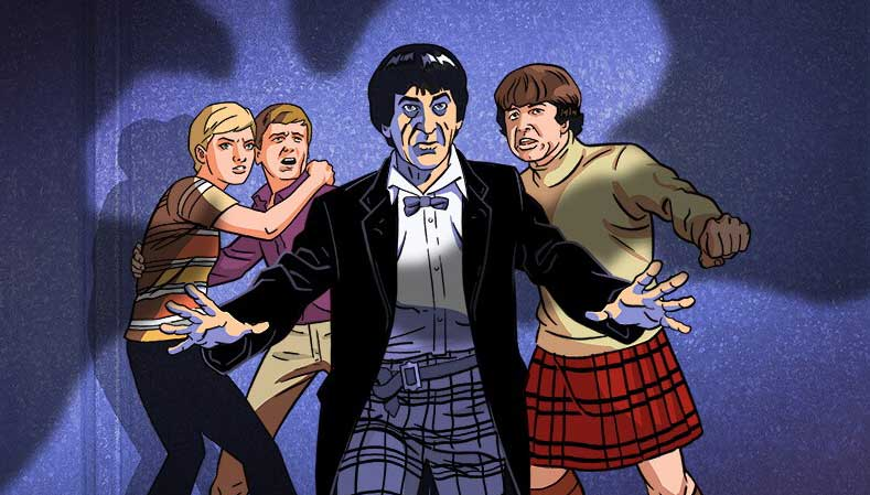 BBC America shows animated Doctor Who re-creations