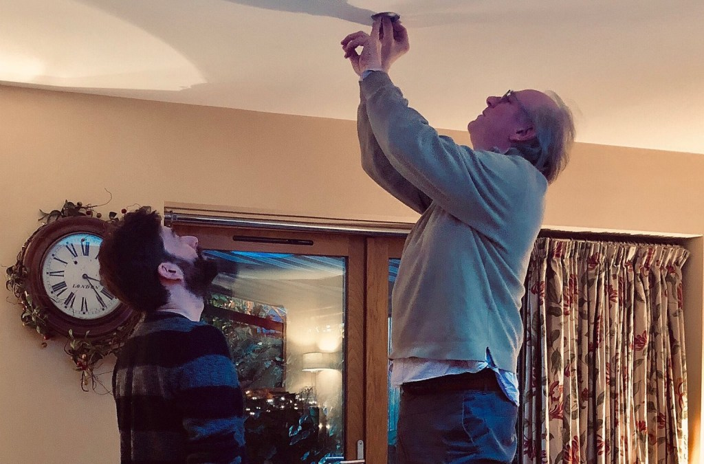 How many retired Time Lords does it take to change a light bulb?
