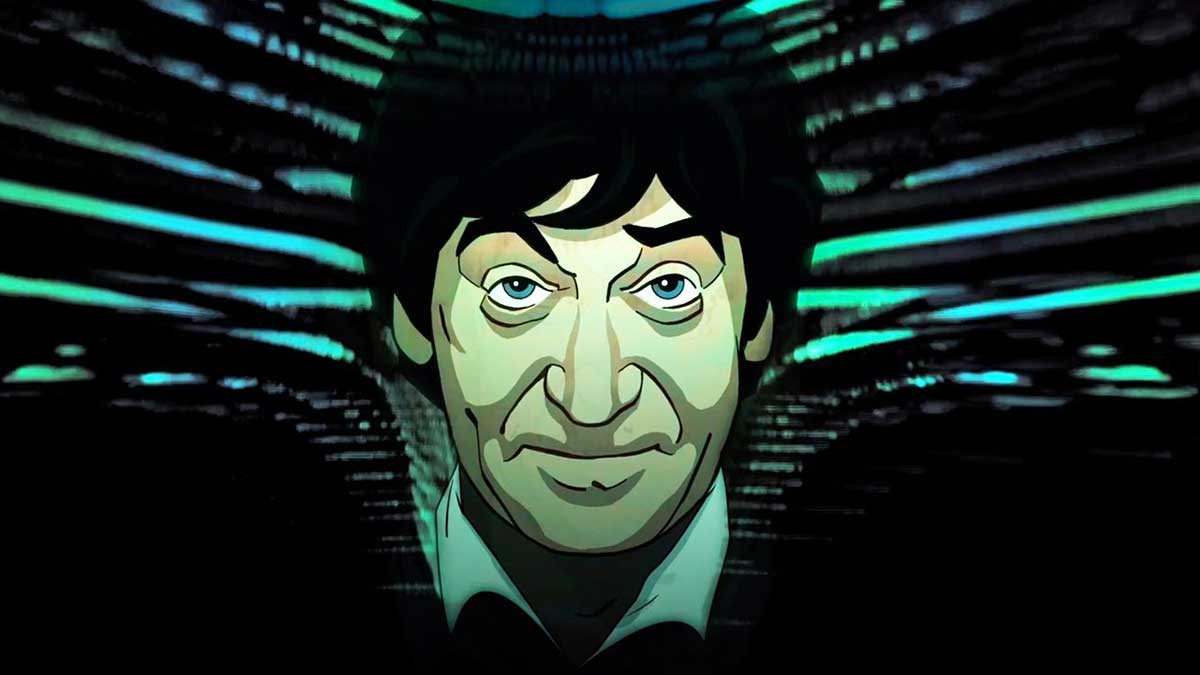 'Web of Fear': First look at new color Second Doctor animation