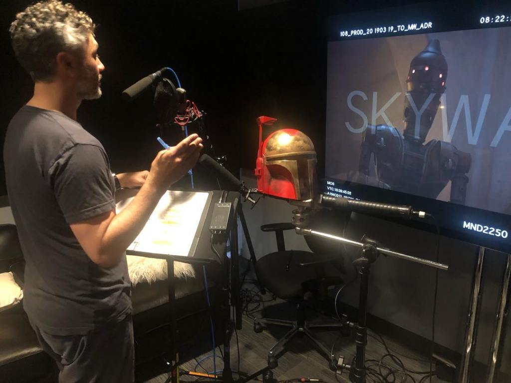 The Mandalorian Taika Waititi droid