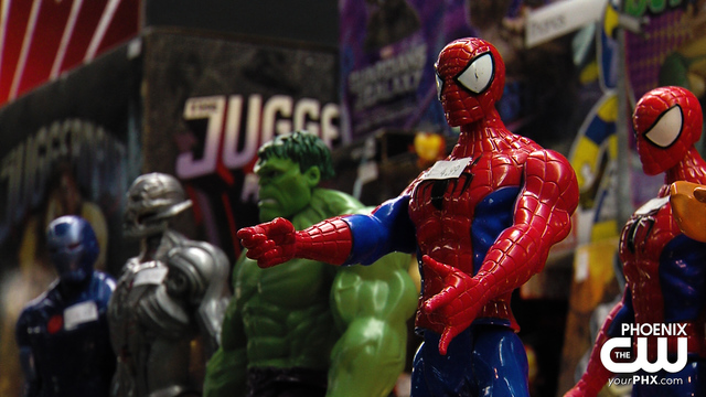 Geek out with comic book collectibles in Phoenix
