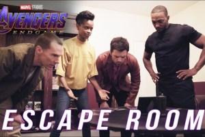 'Avengers: Endgame' stars take on an 'Avengers' themed escape room