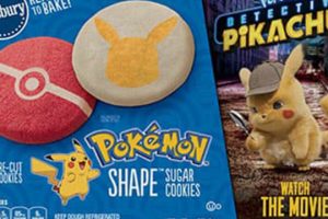 Pillsbury has Pikachu shaped sugar cookies