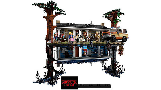 'Stranger Things' LEGO set takes you to the Upside Down