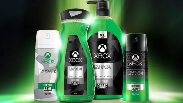 You can smell like Xbox with these new body care products