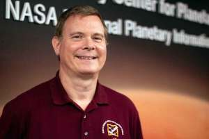 David Williams, an associate research professor at ASU's School of Earth and Space Exploration and deputy lead for the imager with NASA's Psyche mission, says Arizona's involvement in space exploration goes beyond the Apollo 11 mission. (Photo by Grayson Schmidt/Cronkite News)