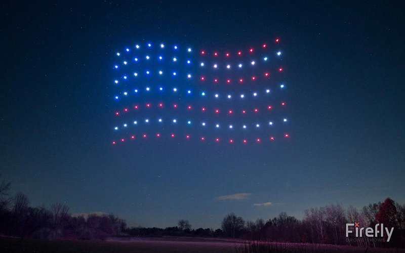 No bursting in air: Carefree uses drones instead of fireworks to celebrate the Fourth