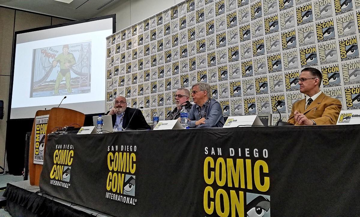 Tom Spurgeon, Kurt Busiek, Paul Levitz, Seth