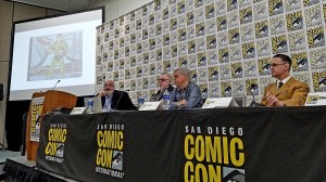 Tom Spurgeon, Kurt Busiek, Paul Levitz, Seth