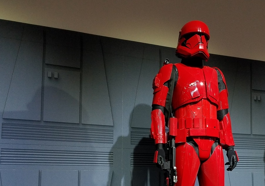 San Diego Comic-Con 2019 Star Wars The Rise of Skywalker Sith Trooper