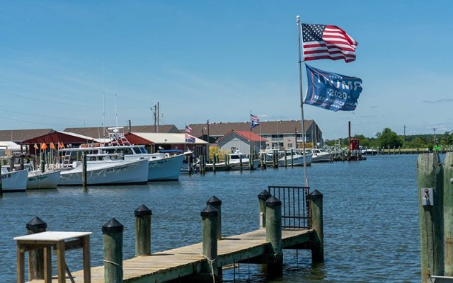 Although the Eastern Shore of Maryland is highly vulnerable to the effects of rising seas, only about 40% of people living along Chesapeake Bay believe global warming will harm them personally. (Photo by Jordan Laird/News21)