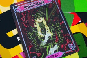 Sparkly*Kitty Nightss Knightmare Card