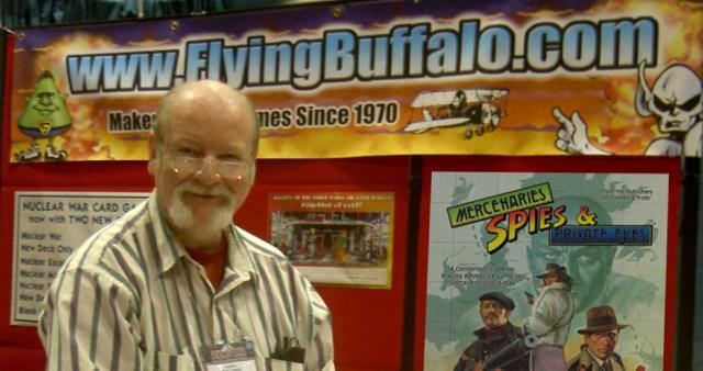 Rick Loomis Flying Buffalo