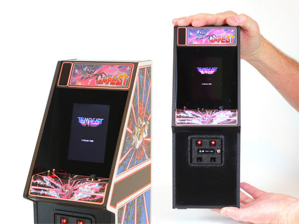 Tempest x Replicade 1:6 Scale Playable Arcade Machine