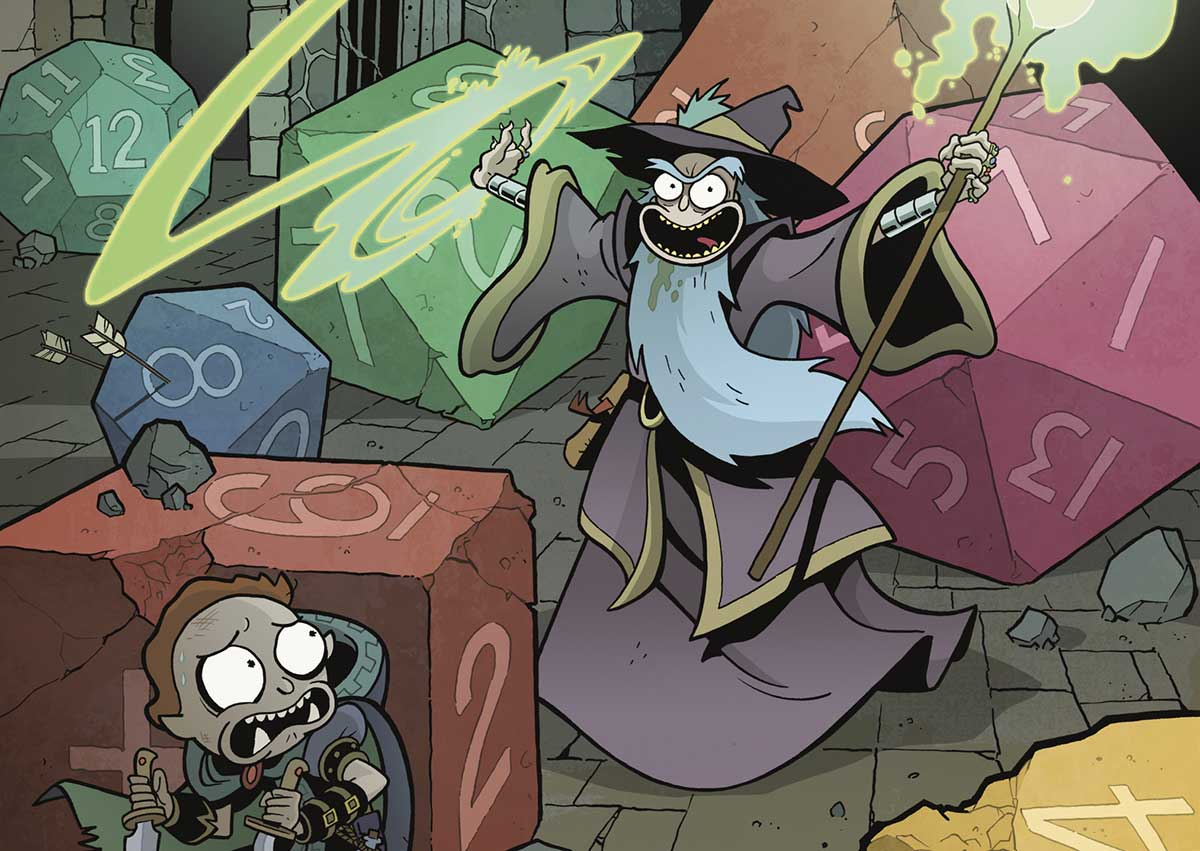 Dungeons & Dragons vs. Rick and Morty's strange formula for success