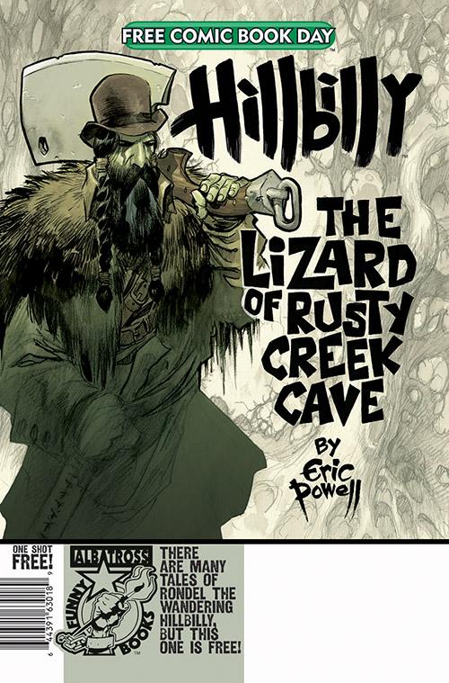 HILLBILLY: THE LIZARD OF RUSTY CREEK CAVE