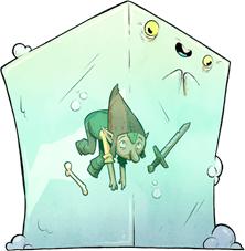 Dungeon Mayhem: Monster Madness Blorp Gelatinous Cube
