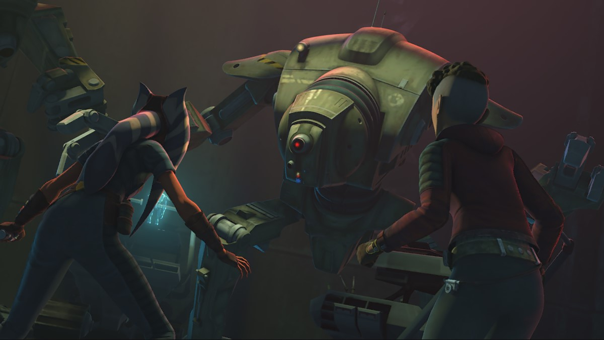 """Star Wars: The Clone Wars"" Episode 705 ""Gone With a Trace"""