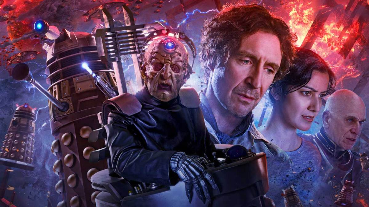 Davros and the Daleks vs the Time Lords