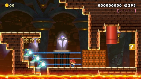 The Super Mario Maker 2 game allows players to unleash their creativity with more new options and the ability to create their own world map. (Graphic: Business Wire)